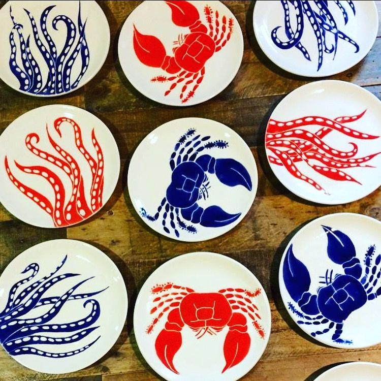 Pin By Jessica Howard On Jessica Howard Ceramics Dinner Sets Hand Painted Ceramics Ceramic Dinnerware