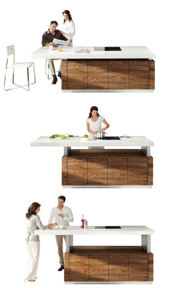 küche einrichten arbeitsplatten für küchen schöne kücheninsel