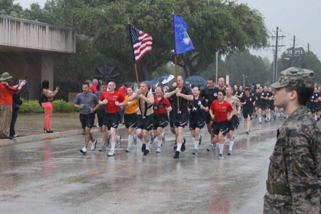 San Antonio Day 3 Airman's Run, Coin Ceremony & Base