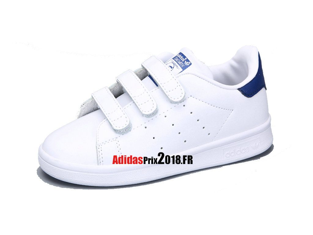 Adidas Originals Stan Smith CF PS - Chaussure Adidas Originals Prix Pour  Jeune Enfant Blanc  c6ce5fd270b4