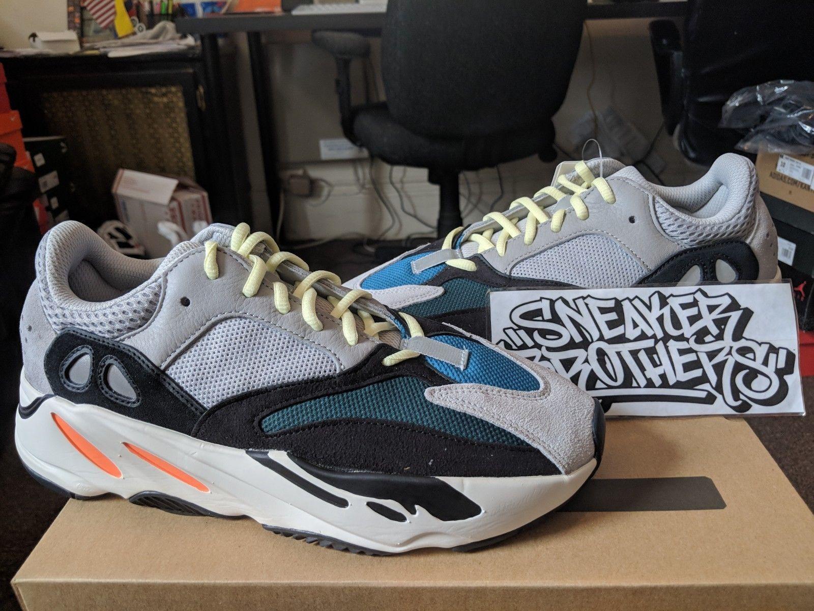 premium selection 14fa1 65fba 599.99 USD   Adidas Yeezy Boost 700 Wave Runner OG Grey Core White Black  Kanye West
