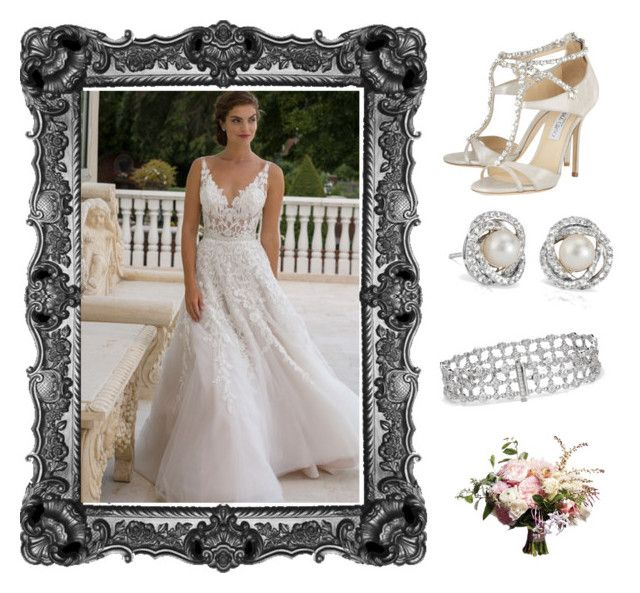 """""""Outfit # 3219"""" by miriam83 ❤ liked on Polyvore featuring Jimmy Choo and Blue Nile"""