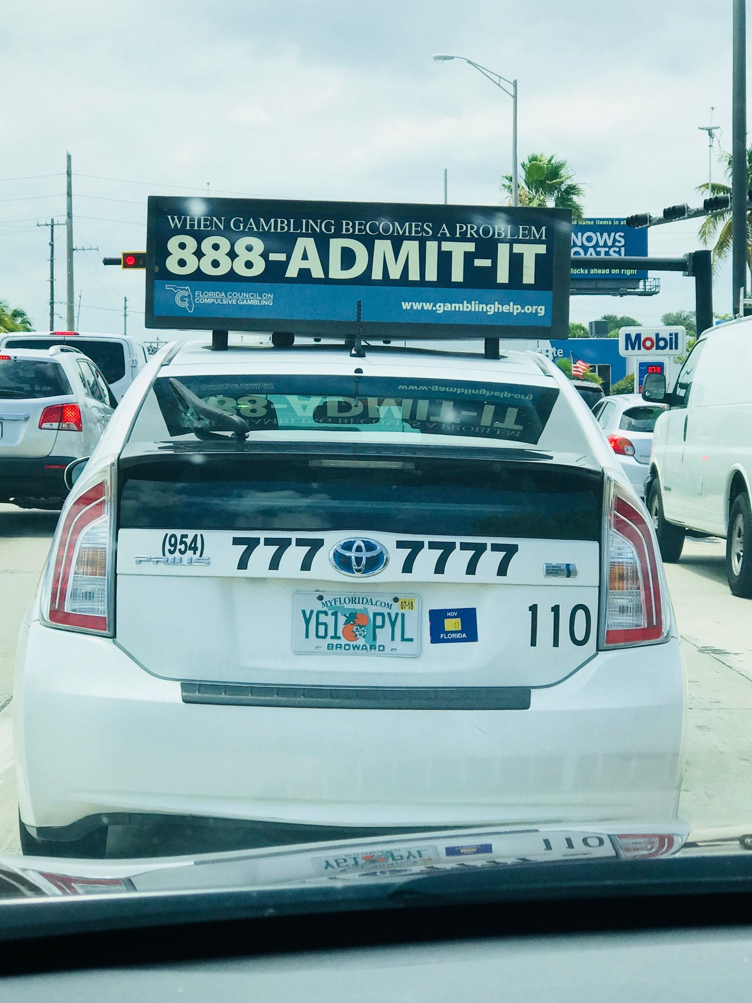 We Spotted Our Helpline On A Taxi Down In Southflorida Call 888 Admit