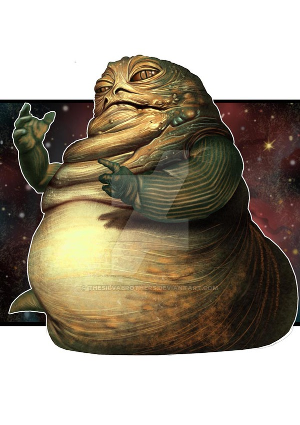 Jabba The Hutt By Thesilvabrothers On Deviantart Awesome Star Wars Art Star Wars Art Star Wars Awesome
