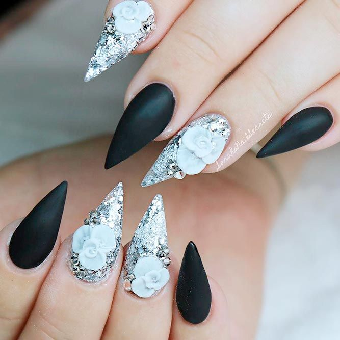 Best Stiletto Nails Designs Ideas Tips For You Stiletto Nails