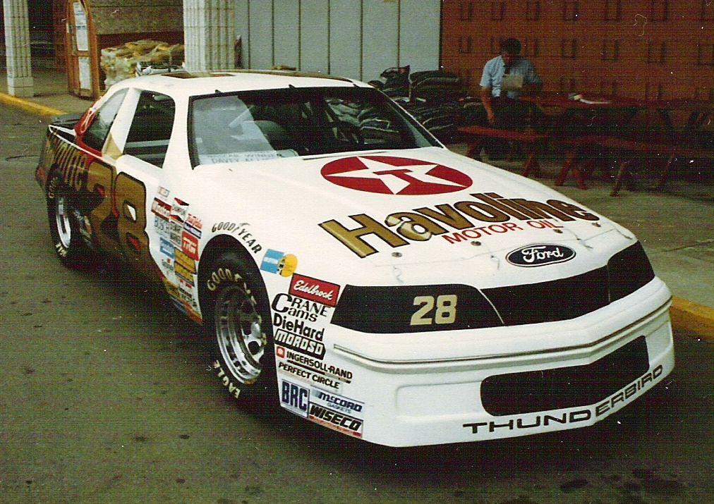 New old stock Nascar Davey Allison #28 Havoline racing sticker