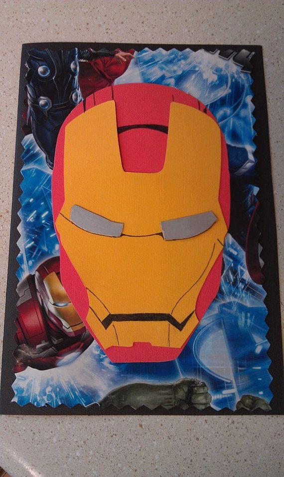 Iron Man Birthday Card Hand Made Ideas Pinterest Cards