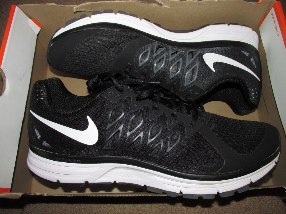 f065d8cf4475 Nike Zoom Vomero 9 Team Mens Running Shoes 9.5 Black White Anthracite  659373 001  Nike  RunningCrossTraining