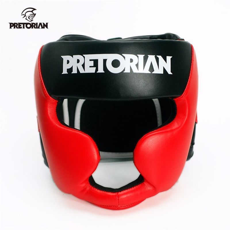 Boxing Headgear Head Guard Helmet Punch Protector MMA Box Combat Safety Gear