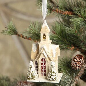 Vint Putz Xmas Church #churchitems