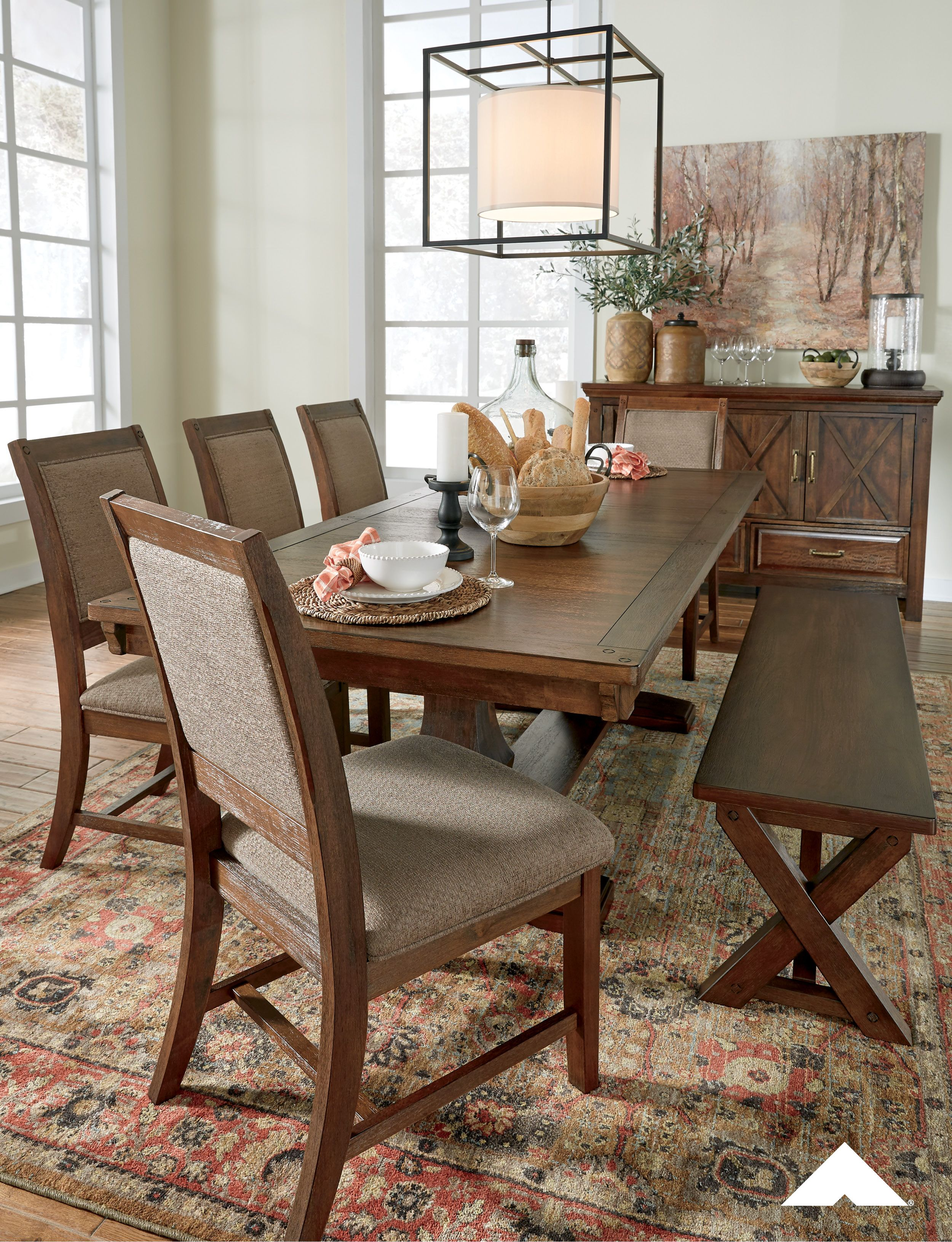 Gather Round And Give Thanks With The Windville Dining Room Set By