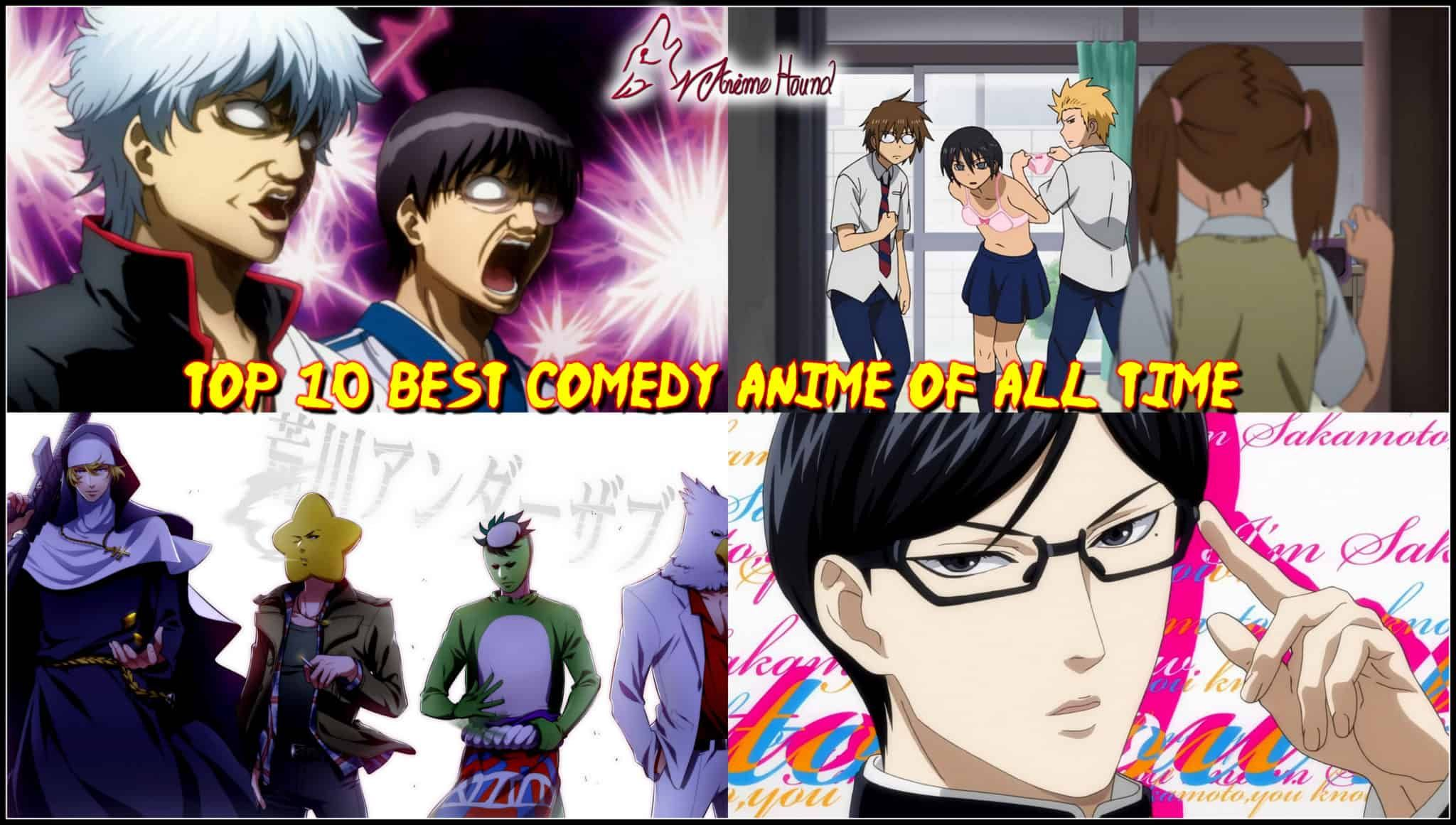 Top 10 Comedy Anime of All time... Best comedy anime