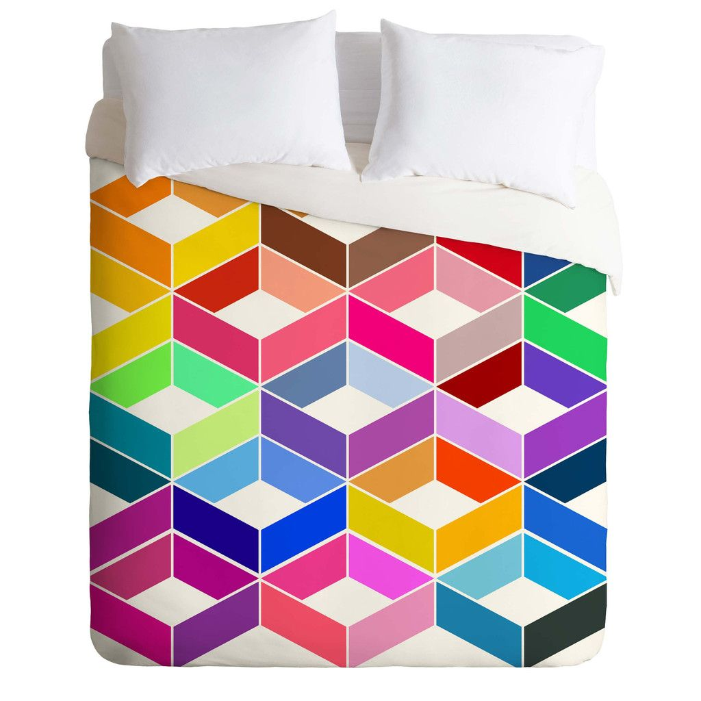 Three Of The Possessed Carnival Carnival Duvet Cover   DENY Designs Home Accessories
