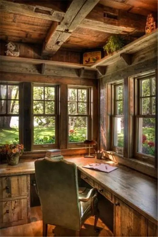 pin by bernice on a cottage to read and write on smart corner home office ideas id=64415