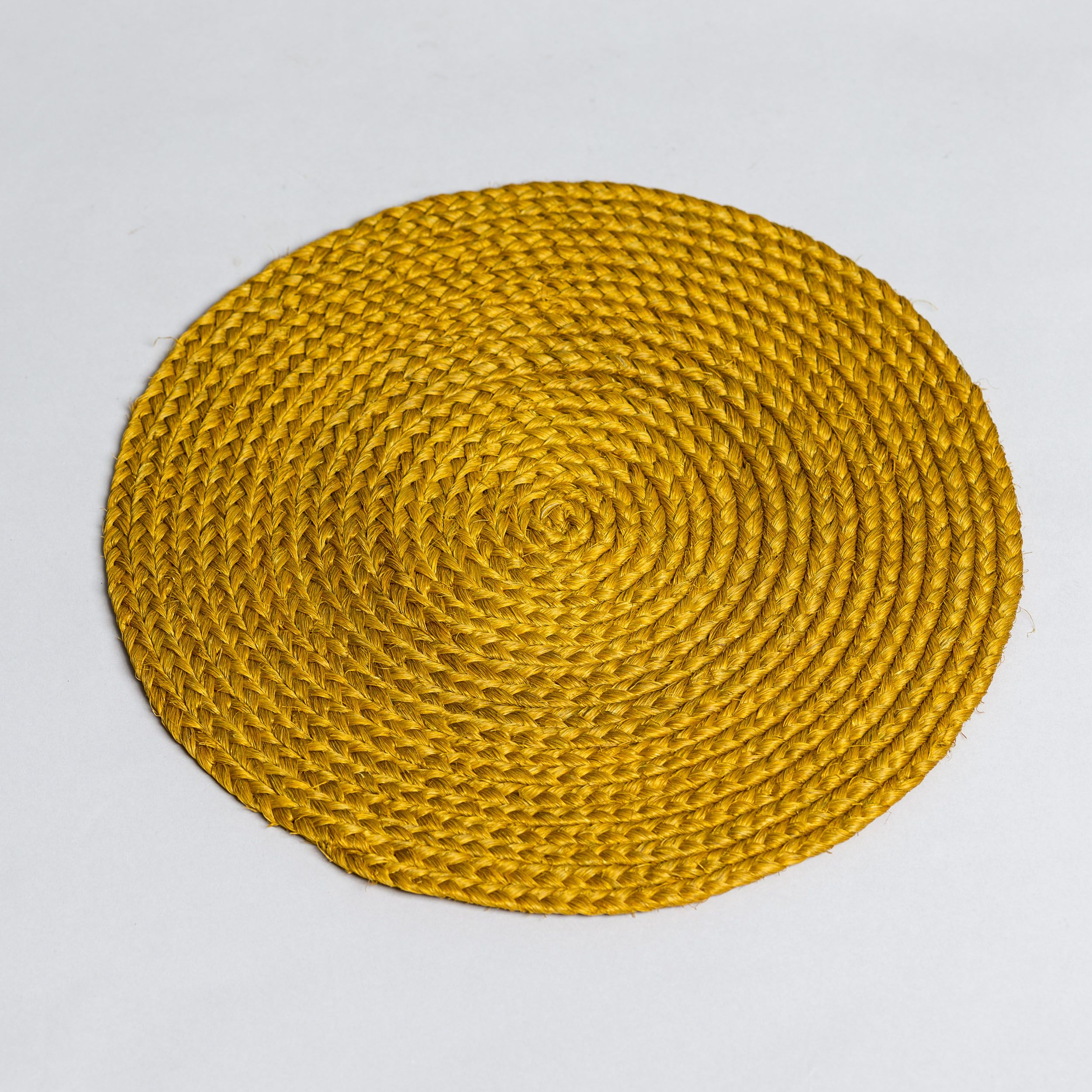 Our Sisal table mats are hand-made in South India and are great for your dining table or under vases and other decorative items in your living space.