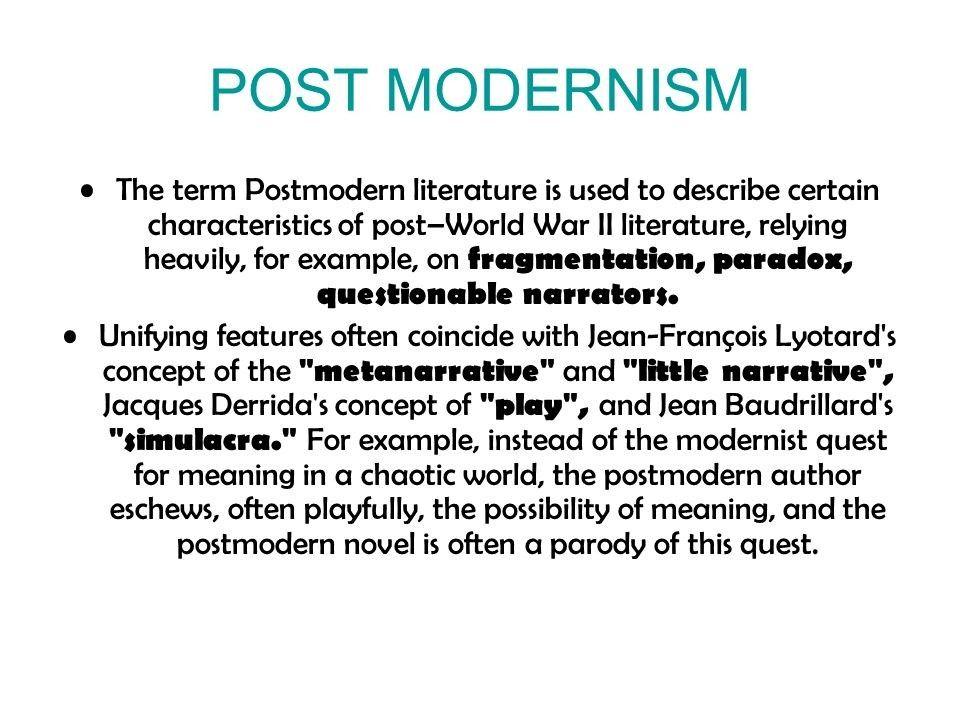 Pin By Shafqat Mushtaq On Postmodernism Postmodern Literature Literature English Literature
