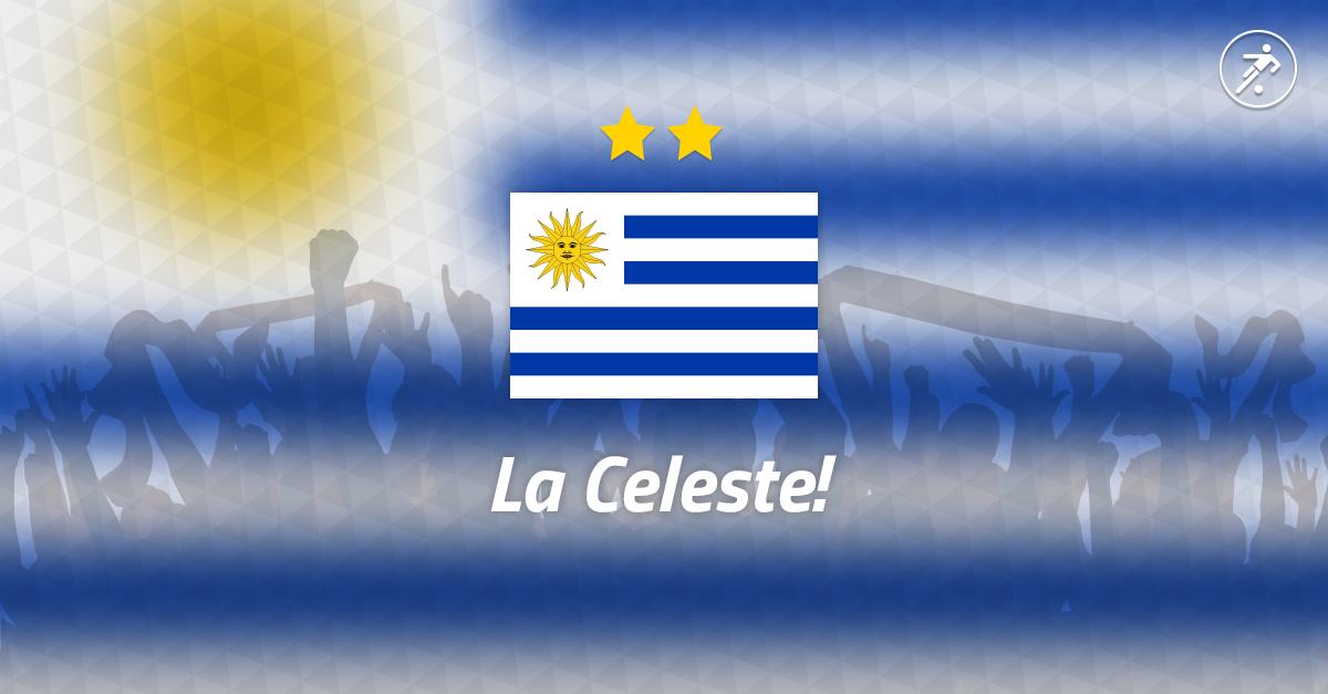 Onefootball Brasil Team Cards – Uruguay #WeAreOnefootball