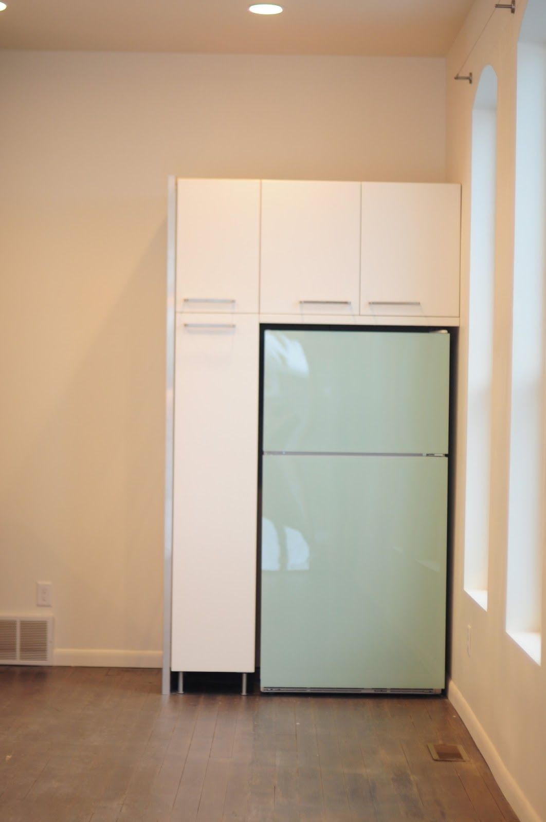 Diy Painted Plexiglass Refrigerator Panels Thread Ethic Modest Fashion Blog