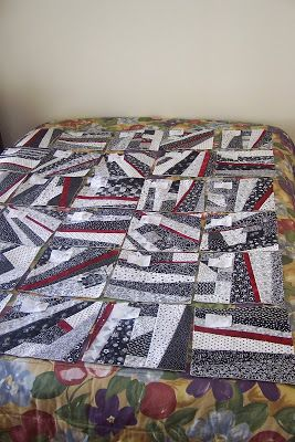 A couple of years ago I did a guest appearanc e at Sew We Quilt.... and did a Quilt As You Go tutorial.... which was based on one of my firs...