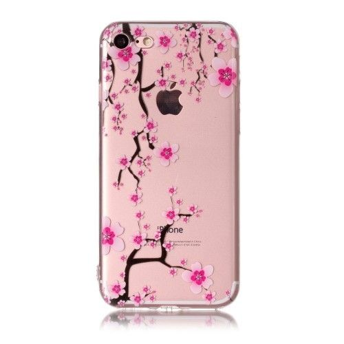 coque fleuri iphone 8