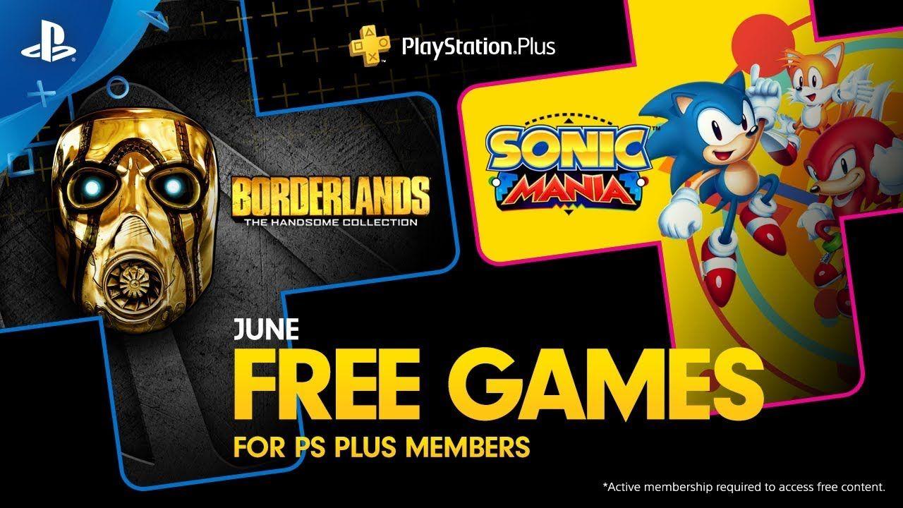 PlayStation Plus  Free Games Lineup June 2019  PS4borderlands