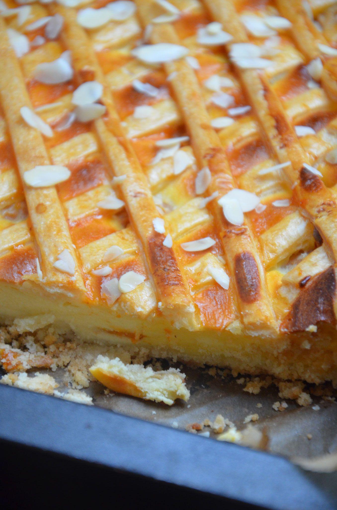 Ricotta-Marillen-Kuchen | Baking Barbarine