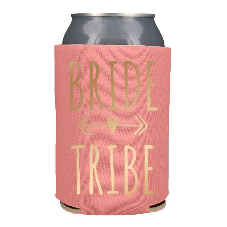 Bride Squad Bachelorette Party Favors Bridal Party Koozies Bachelorette Koozies