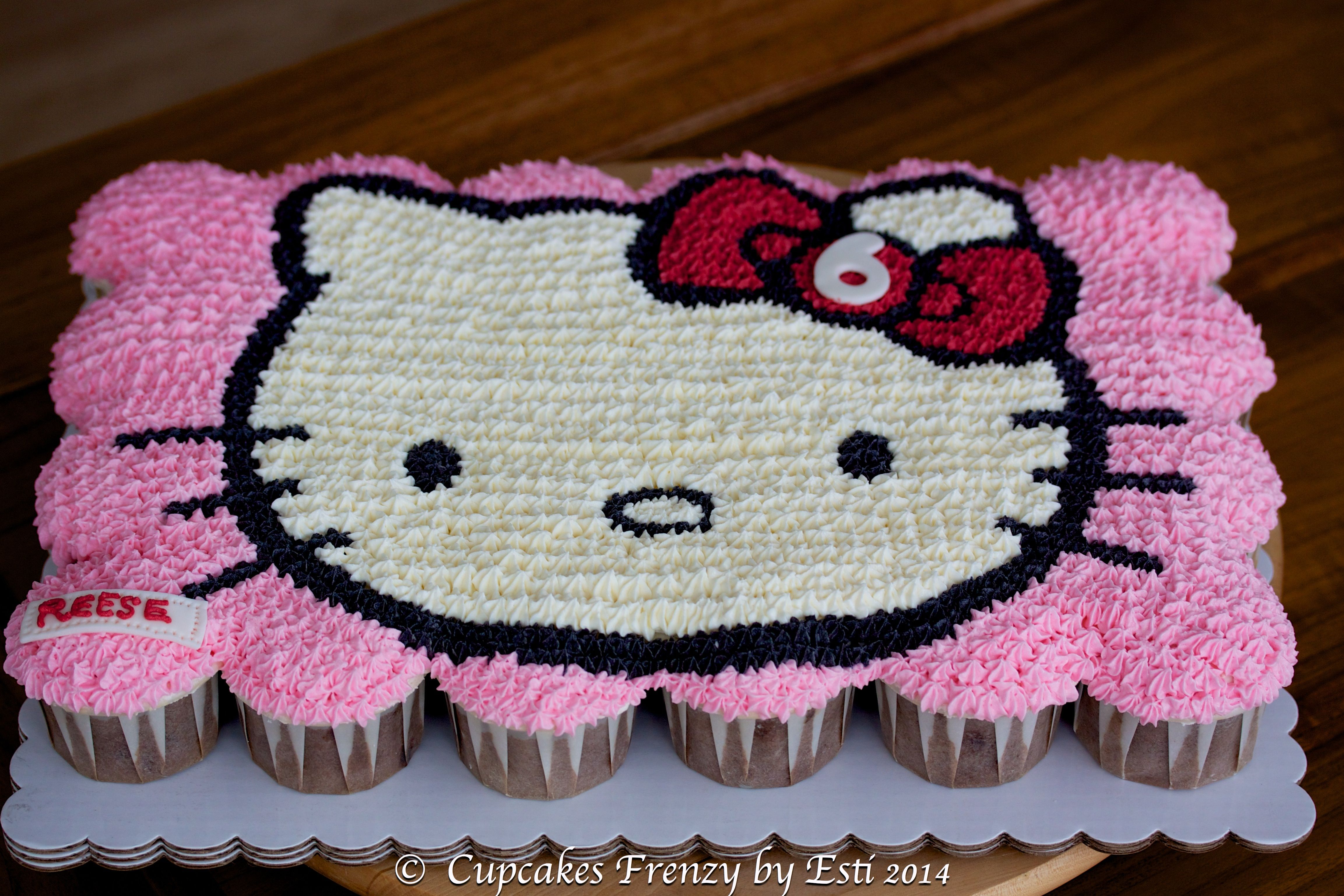 hello kitty cupcake cake - Google Search Cakes ...