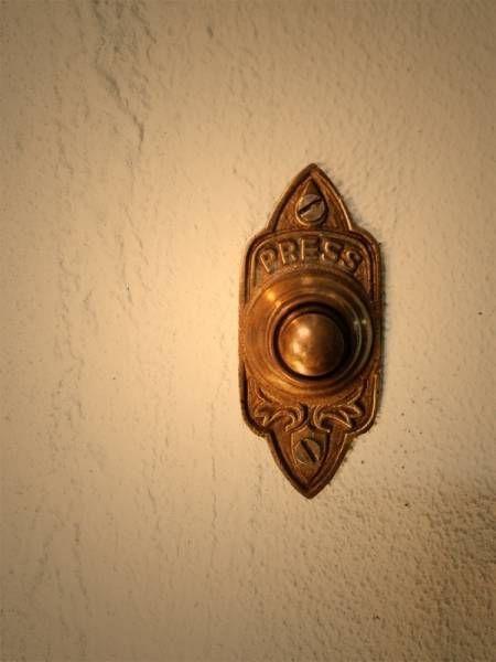 楽天市場 ドアベル Doorbell ネジタイプ スウィング Diy 真鍮 ドア