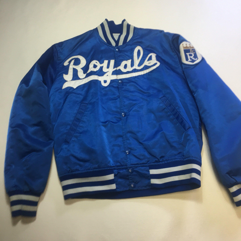 Vintage Mens Medium Blue Kansas City Royals Satin Starter Etsy Baseball Varsity Jacket Medium Blue Kansas City Royals [ 3000 x 3000 Pixel ]