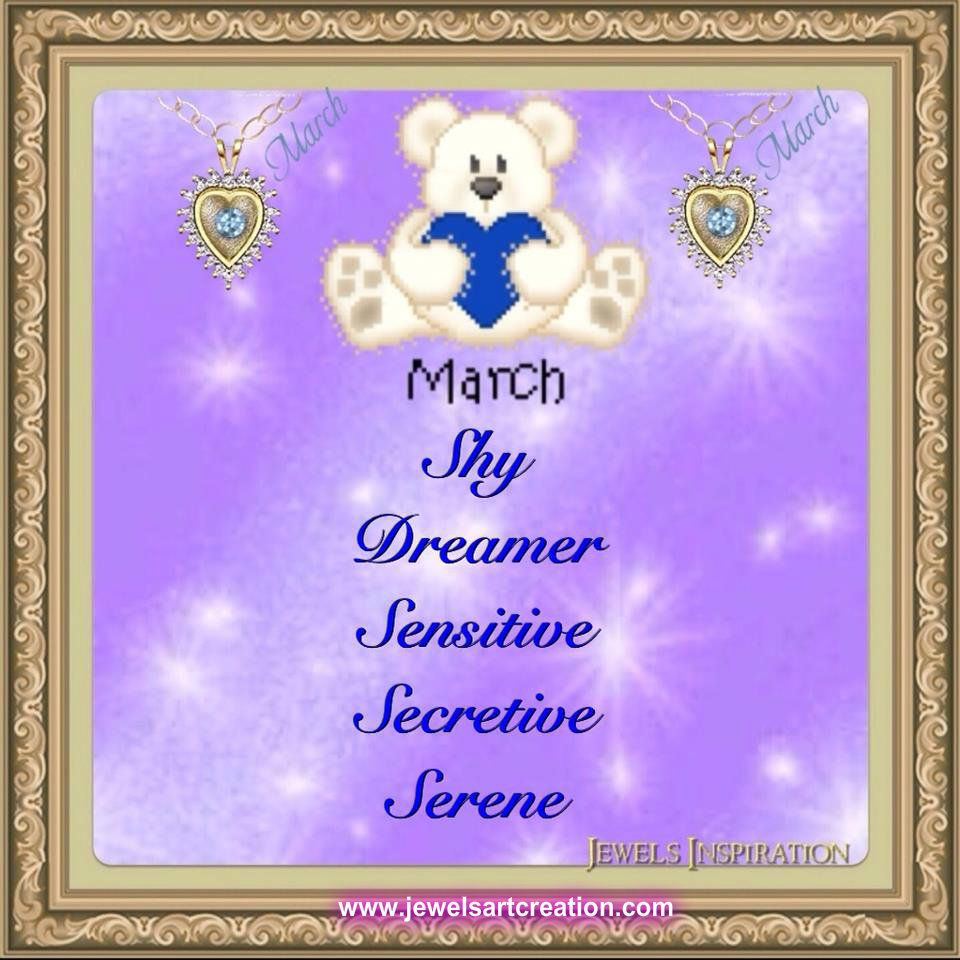 March Personality (With images) Birth month, August