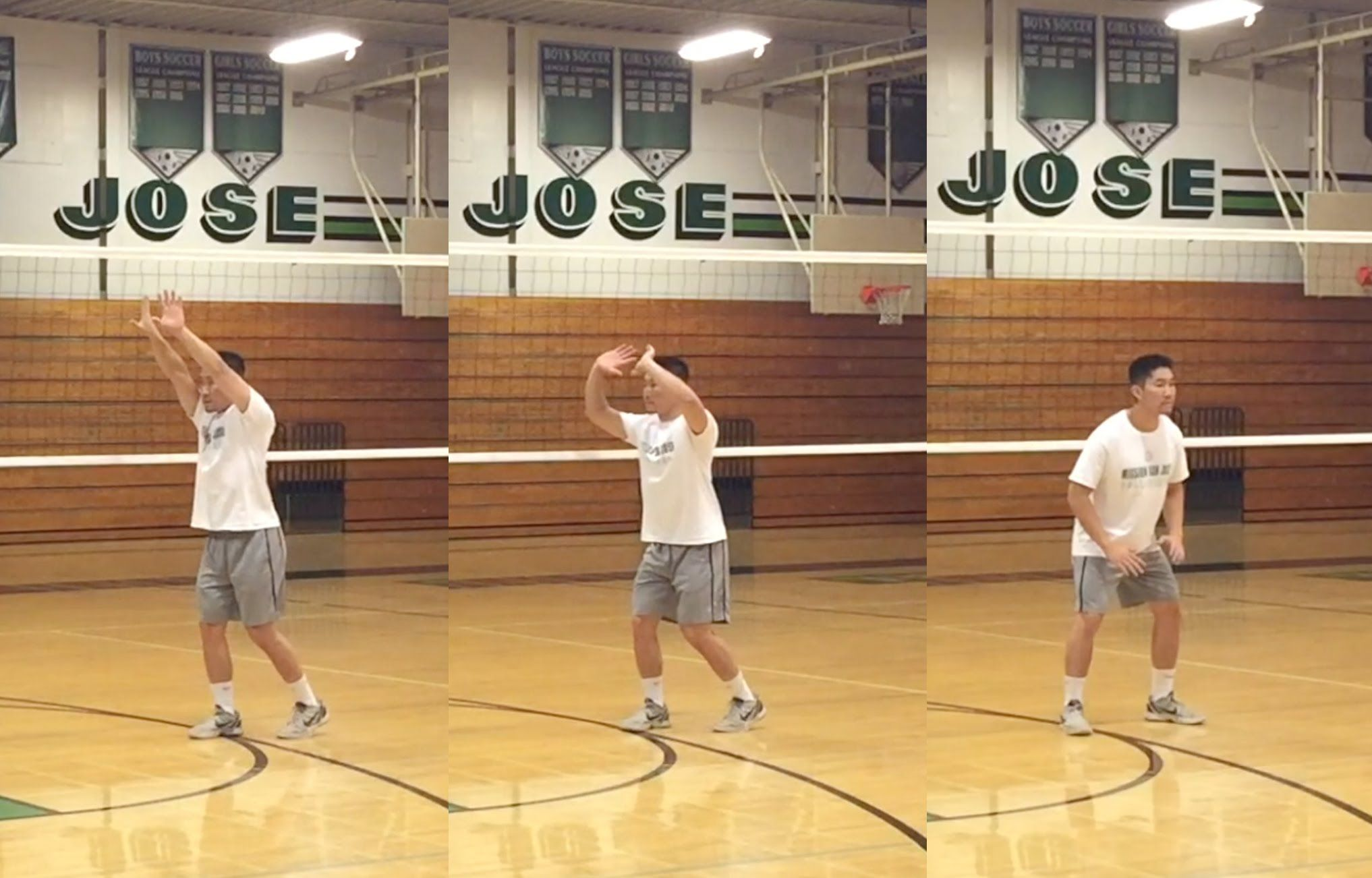 Learn The Fundamentals Of How To Set A Volleyball By Learning The Proper Stance Hand Formation An Volleyball Training Coaching Volleyball Volleyball Practice