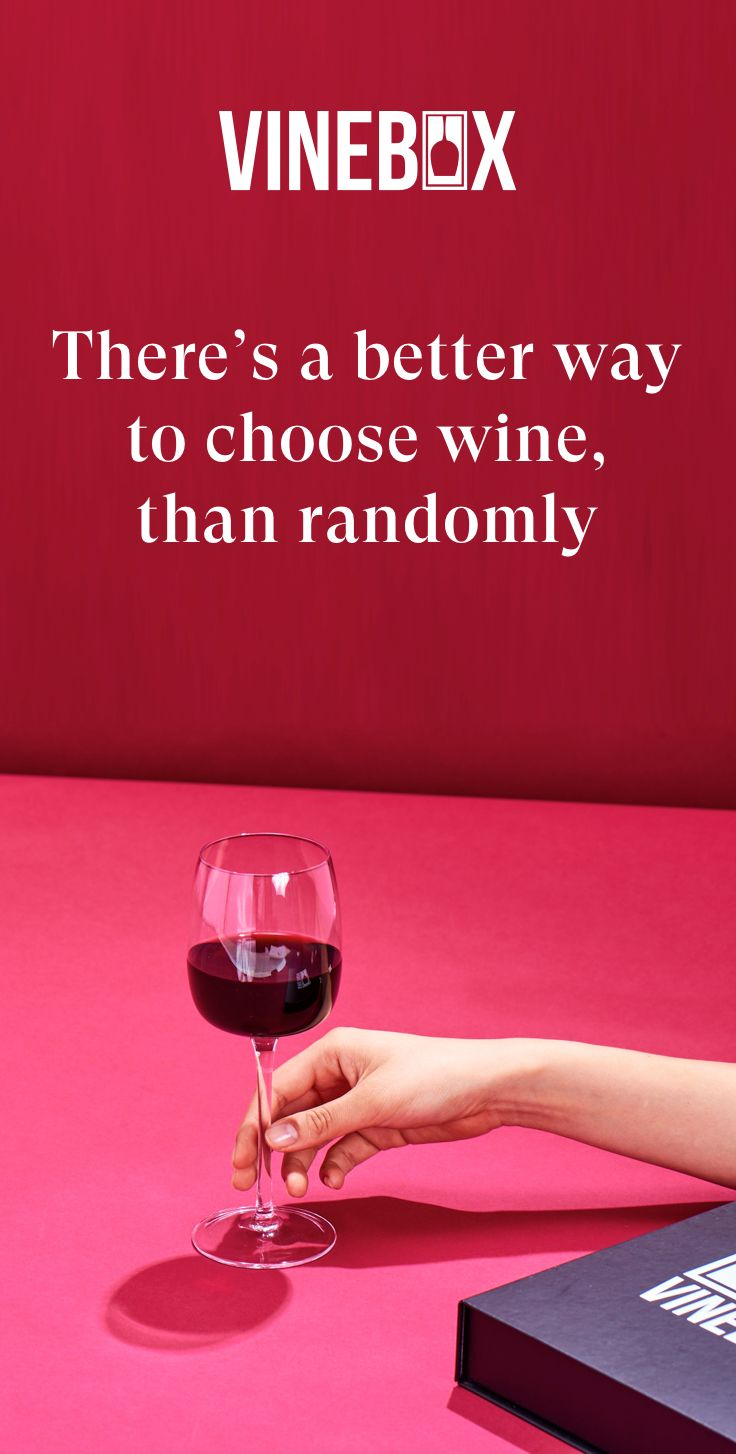 Take A Hint Try Vinebox Vinebox Wine By The Glass Wine Food Pairing