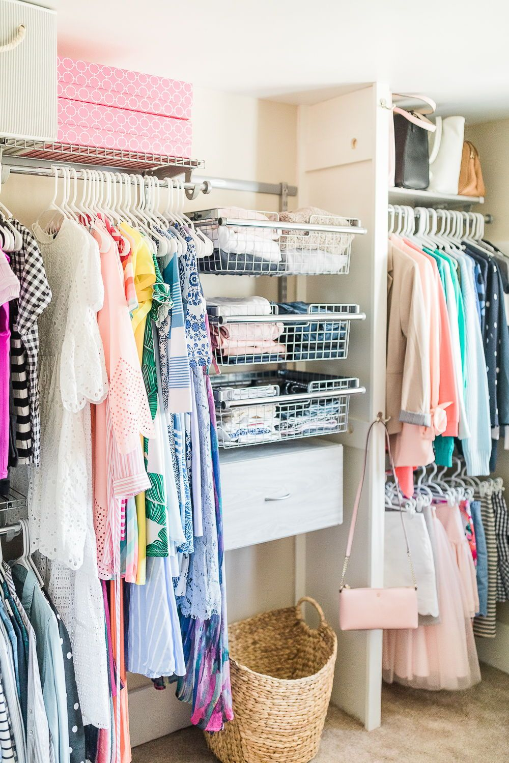 Need Some Affordable Custom Closet Ideas? Build Your Own Rubbermaid  FastTrack Closet Organization System At