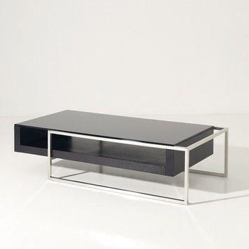 Modrest Garnet Coffee Table By Vig 669 51 X25 X13 High Black