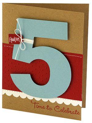 Tal Kort Fodelsedagskort Kids Birthday Cards Birthday Och