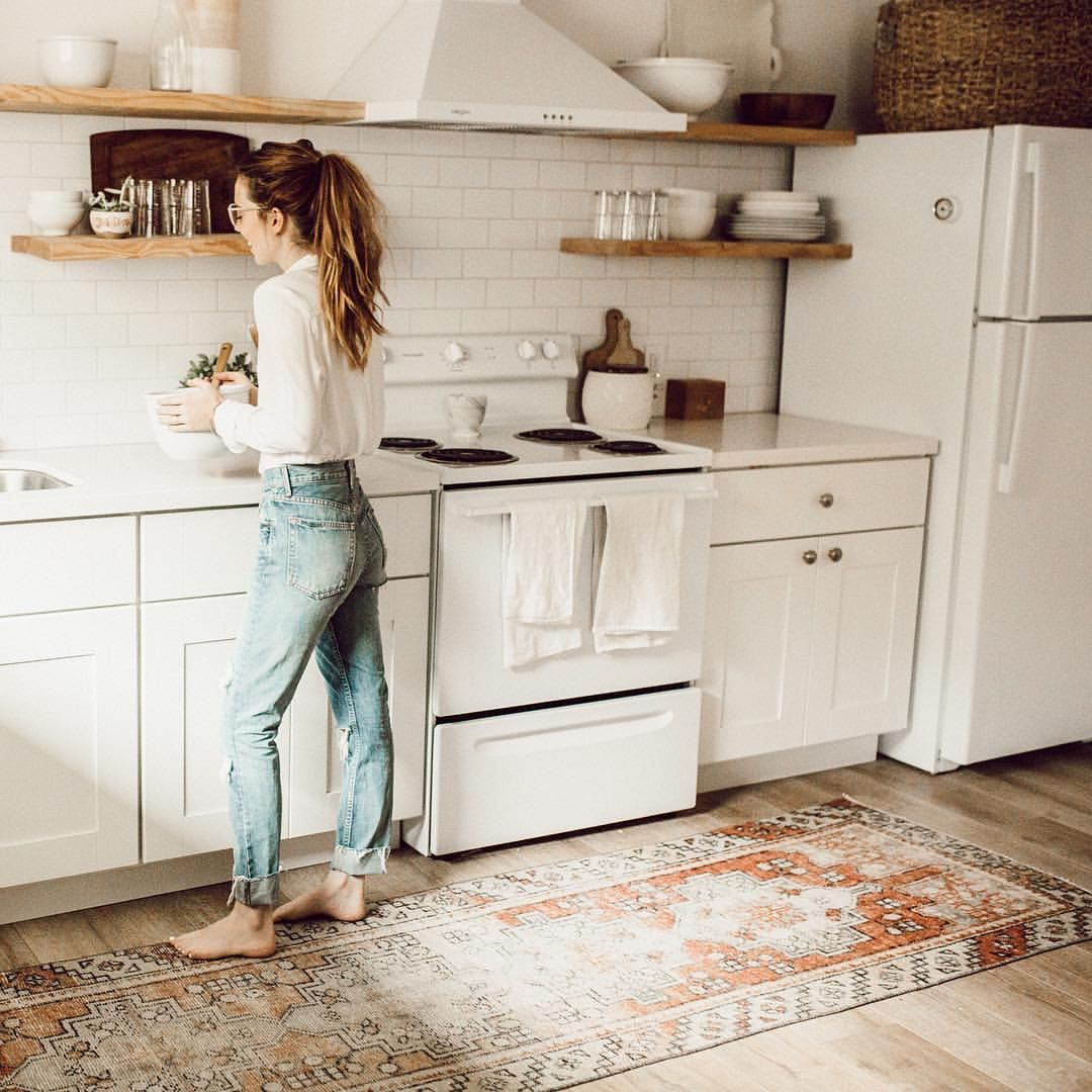 23 best kitchen rugs stylish kitchens with rugs on extraordinary clever minimalist wardrobe ideas id=41078