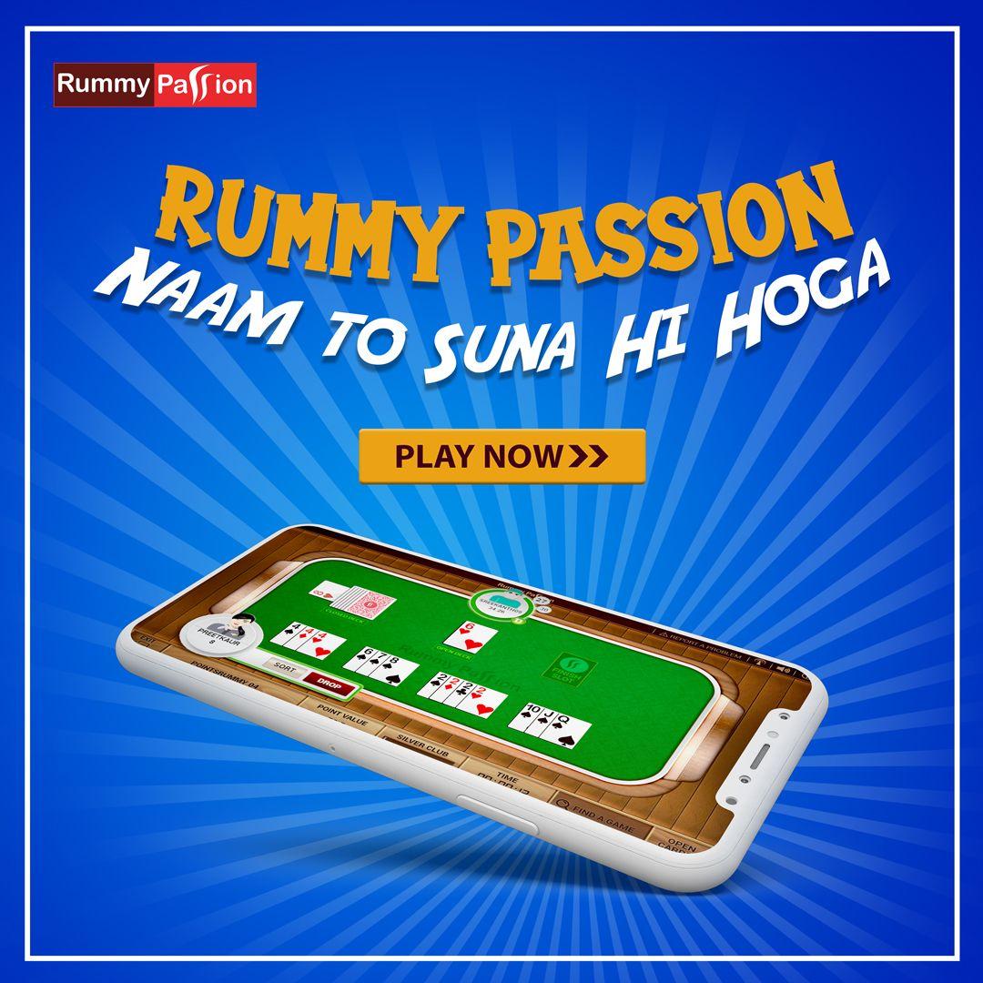 Rummy Passion Naam toh suna hee hoga! in 2020 Rummy