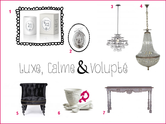 luxe calme et volupt utile et futile france flamant et mathilde m trends lust. Black Bedroom Furniture Sets. Home Design Ideas