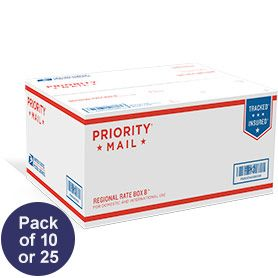 Priority Mail Regional Rate Box B1 Pack Of 10 Priorities