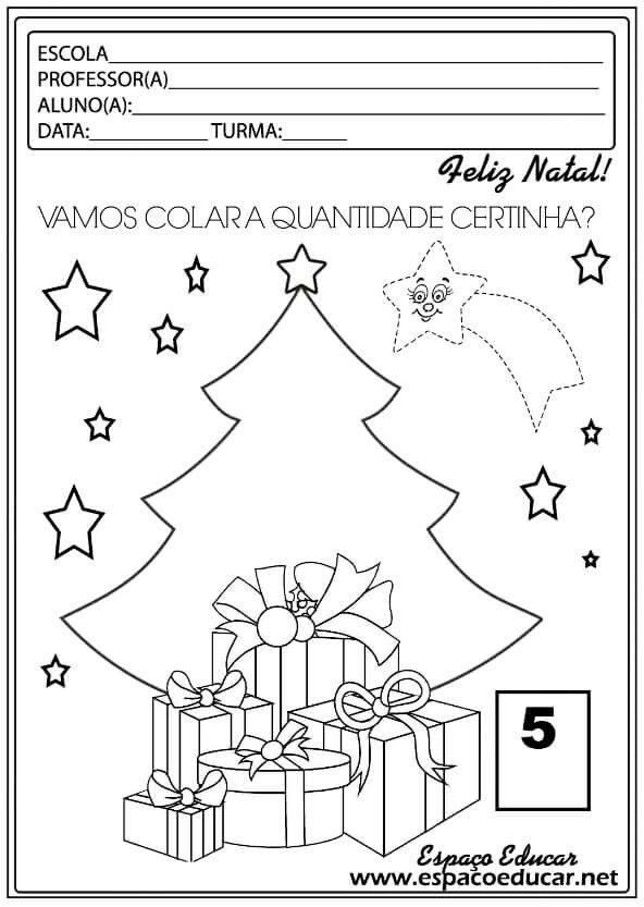 Colar Bolinhas Crepom Atividades De Natal Atividades Natal