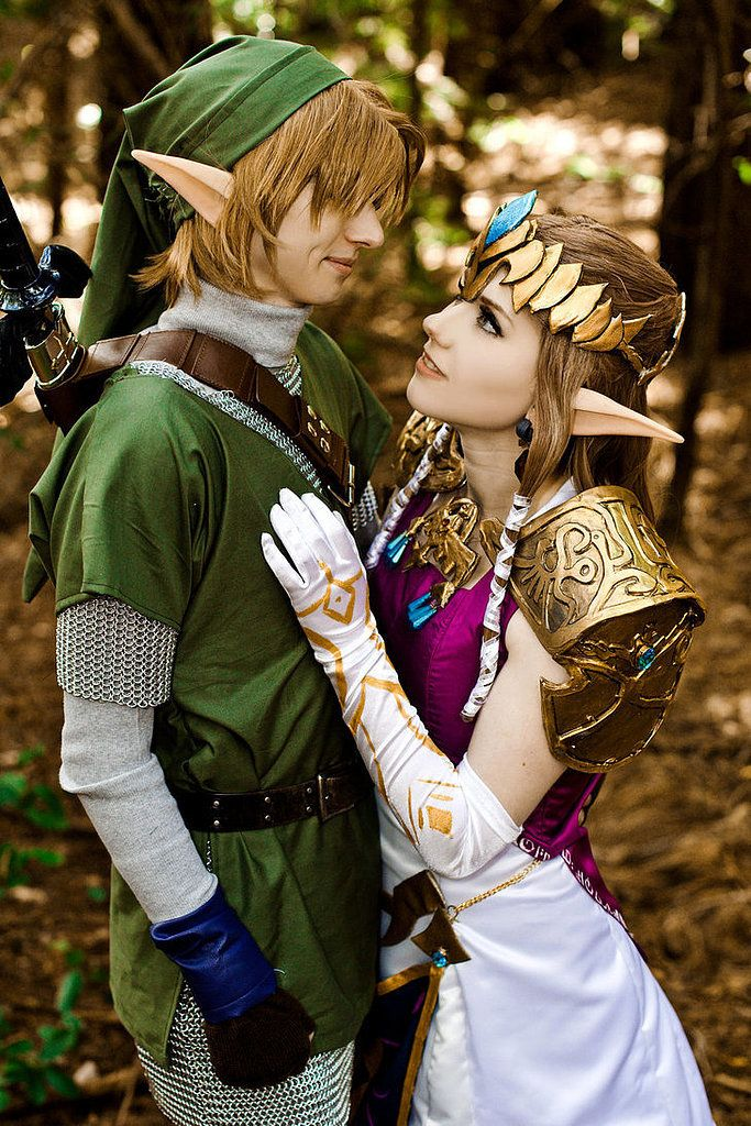 Link and Princess Zelda Halloween costume & 39 Creative Costumes Inspired by Video Games | Pinterest | Princess ...