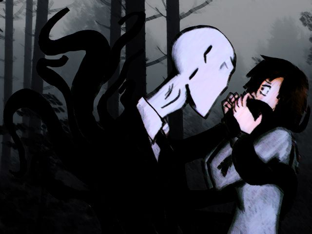 Slenderman and Anne Clermonth