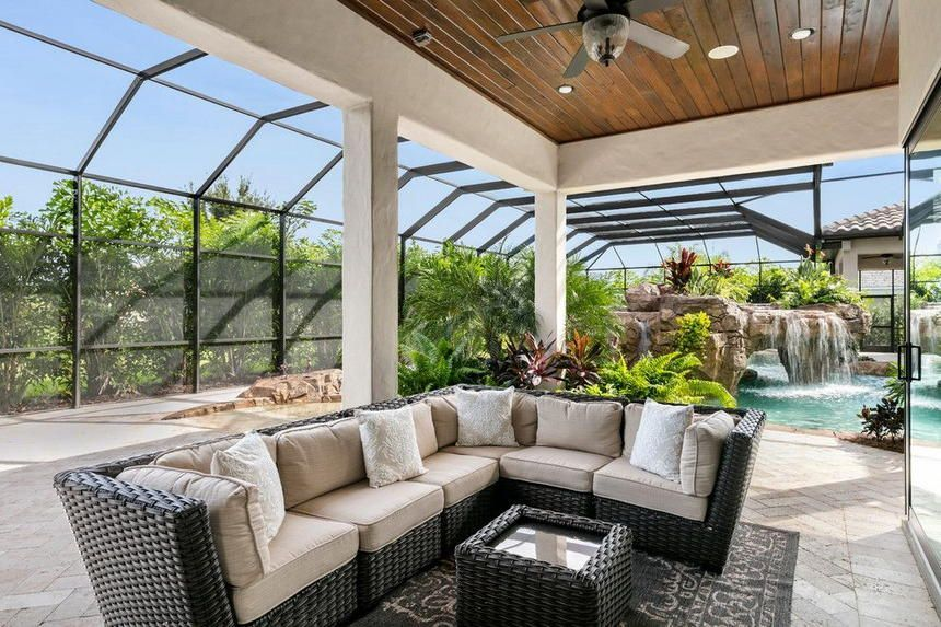 What A Brilliant Designing Of This Sunroom Plan Is Made Here By A Genius Designer Of Course Heart Touching An All Sunroom Designs Outdoor Rooms Tuscan Style