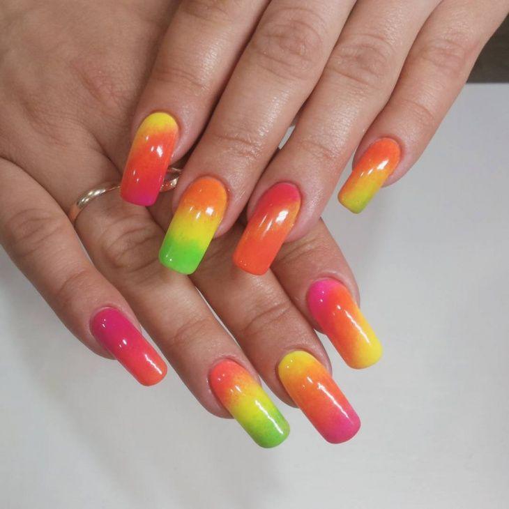 pretty 55 acrylic nail design