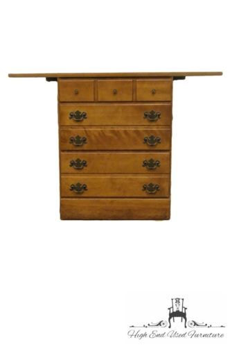 ETHAN ALLEN Heirloom Nutmeg Maple CRP Corner Desk 10-4532P