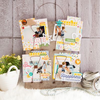 Happiness is Handmade by Evelyn Pratiwi Yusuf featuring Jillibean Soup Mix the Media and Sew Sweet Sunshine Soup
