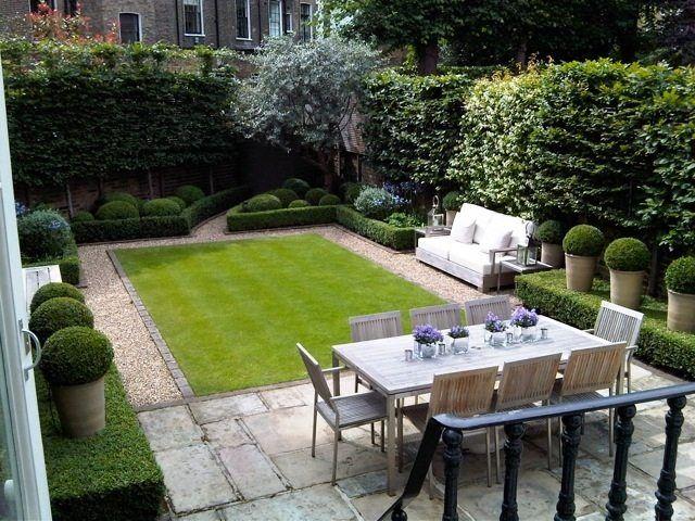 Am nagement paysager moderne 104 id es de jardin design gardens garden id - Amenagement jardin moderne ...
