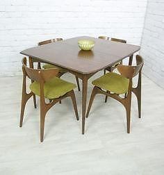 275 Actually Burnt Orange Seats Sarnia 50 S Vintage Deilcraft Dinette Set Chatham Kent Ontario Image Mid Century Modern Furniture Dinette Sets Furniture