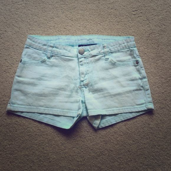 Sky Blue Shorts Gently used. Have some stretch to them. City Streets Shorts